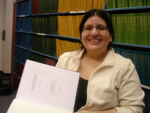 UC Merced graduate student Maria Duenas