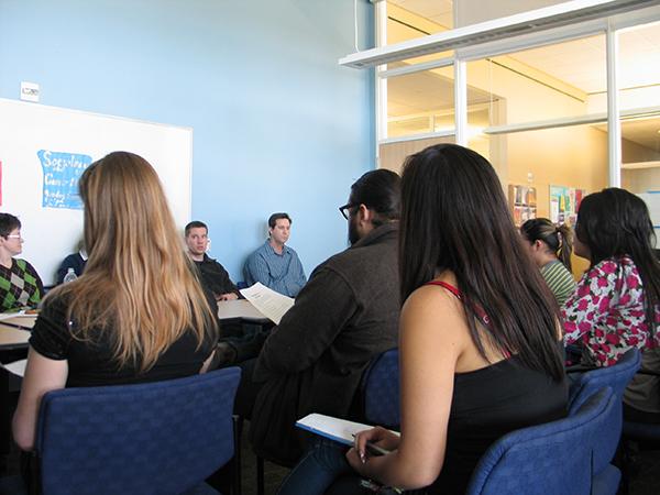 UC Merced Sociology students speaking